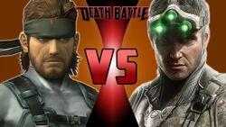 Solid Snake VS Sam Fisher