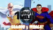 One Minute Melee Saitama vs. Superman