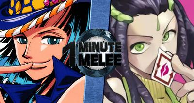 Nico Robin vs Ermes V1