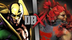 Iron Fist VS Akuma (DBX)