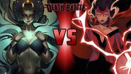 The Enchantress vs. Scarlet Witch