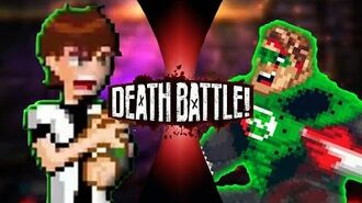 Ben 10 vs Green Lantern but on Discord