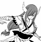 Fairy Tail - Erza Scarlet wearing Wind God Armor