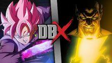 Goku Black VS Black Adam (Official)