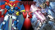 Ray MK III vs. Build Strike Gundam