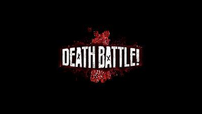 DEATH BATTLE! logo 2017 (Blood Splatter)