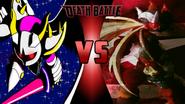 Galacta Knight vs. Omega Zero