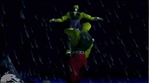 HD Mortal Kombat 4 Arcade - Reptile Fatality 2 (Acid Puke)