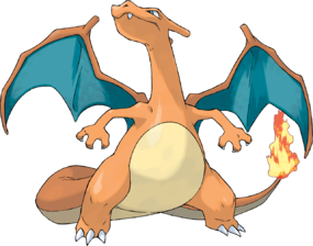 Charizard, the Flame Pokémon