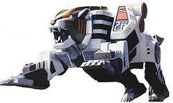 Tigerzord in tiger form