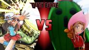 Leaf and Venusaur vs. Mimi Tachikawa and Togemon