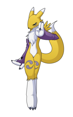 Renamon by rockmanzxadvent-d7gnt5s
