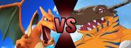The Charizard VS The Greymon