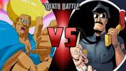 Bobobo-Bo Bobo-Bo vs. Axe Cop