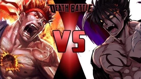 image evil ryu vs devil jin jpg death battle wiki fandom