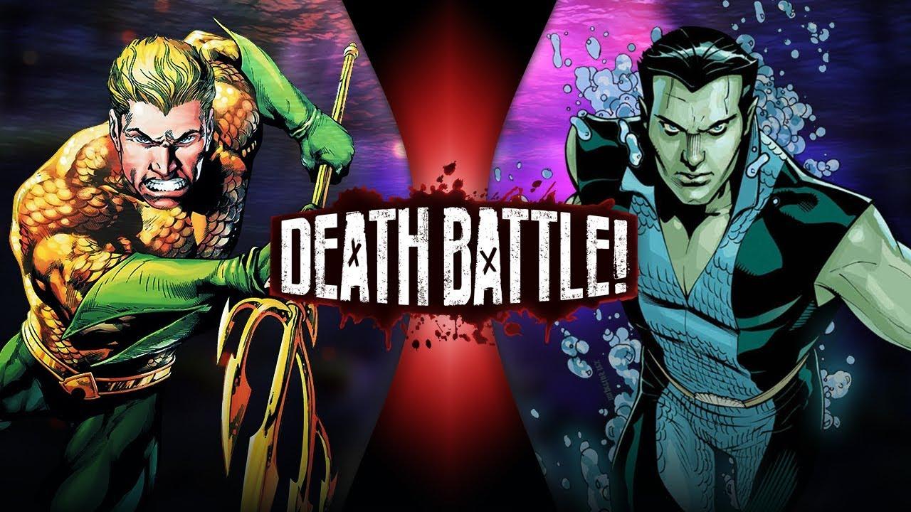 Aquaman Vs Namor Death Battle Wiki Fandom Powered By Wikia