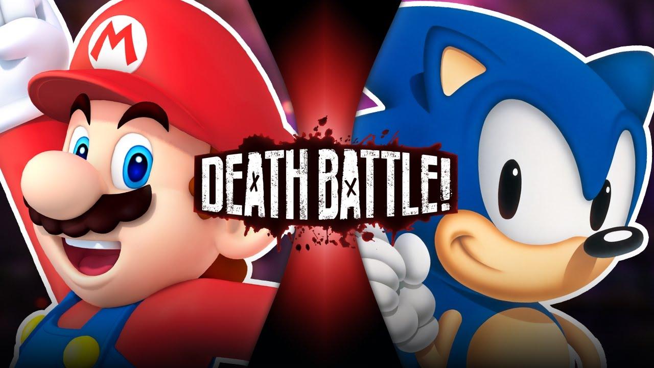 Mario Vs Sonic 2011 Death Battle Wiki Fandom Powered