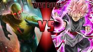 Reverse-Flash vs. Goku Black