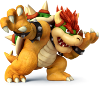 SSB4 - Bowser Artwork