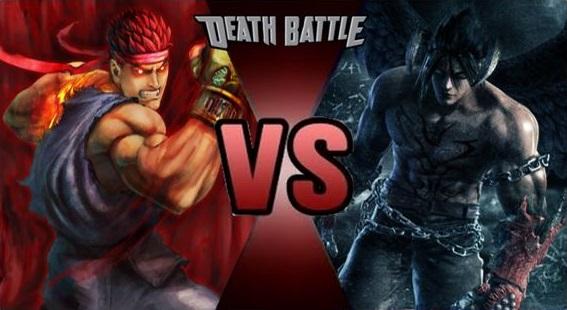 image evil ryu vs devil jin by fevg620 d8tedpv jpg death battle