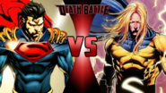 Superboy-Prime vs. Sentry