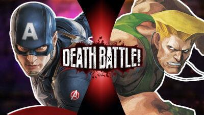Captain America vs Guile