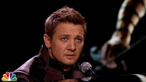 """Hawkeye Sings About His Super Powers (Ed Sheeran """"Thinking Out Loud"""" Parody)"""