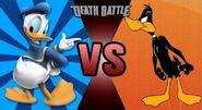 Donald Duck vs. Daffy Duck