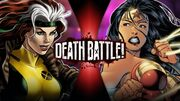 Rogue VS Wonder Woman