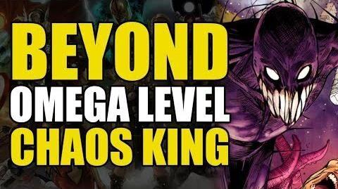 Omega Beyond Omega Level The Chaos King Comics Explained