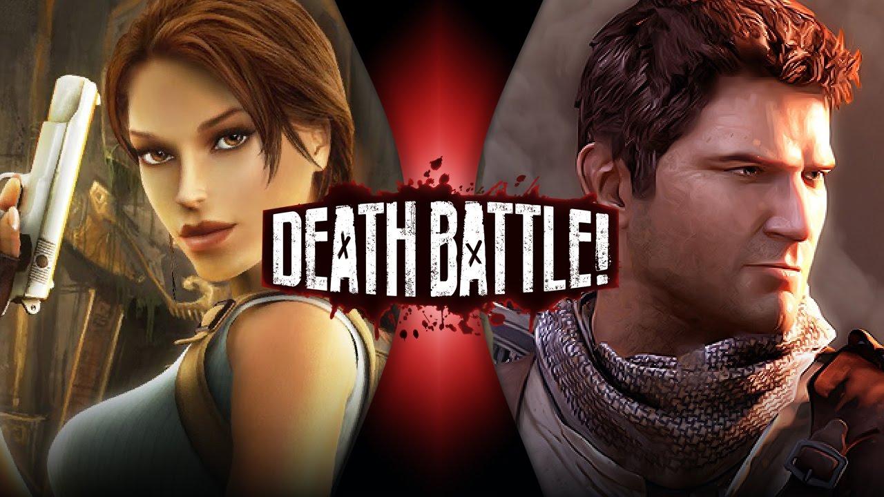 Lara Croft And Nathan Drake: Lara Croft VS Nathan Drake