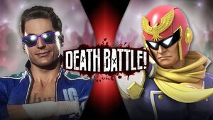 Johnny Cage VS Captain Falcon