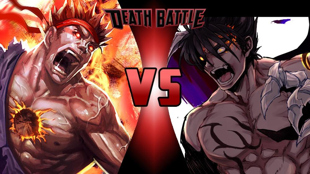 image db evil ryu vs devil jin png death battle wiki fandom