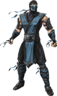 Mortal Kombat - Sub-Zero as he appears in Mortal Kombat 9