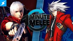 One Minute Melee Dante vs Ragna the Bloodedge
