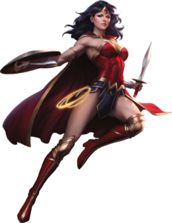 Wonder woman rebirth render by xxkyrarosalesxx-dbh1q05