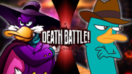 Darkwing Duck VS Perry the Platypus