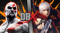 Kratos VS Dante (DBX)