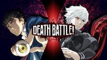 Death Battle Shinichi Izumi vs Ken Kaneki