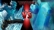 Iceman vs. Regice