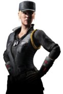Mortal Kombat - Sonya Blade as she appears in Mortal Kombat X
