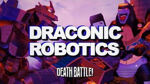 DEATH BATTLE Music- Dragonzord VS Mechagodzilla - DRACONIC ROBOTICS by Therewolf Media