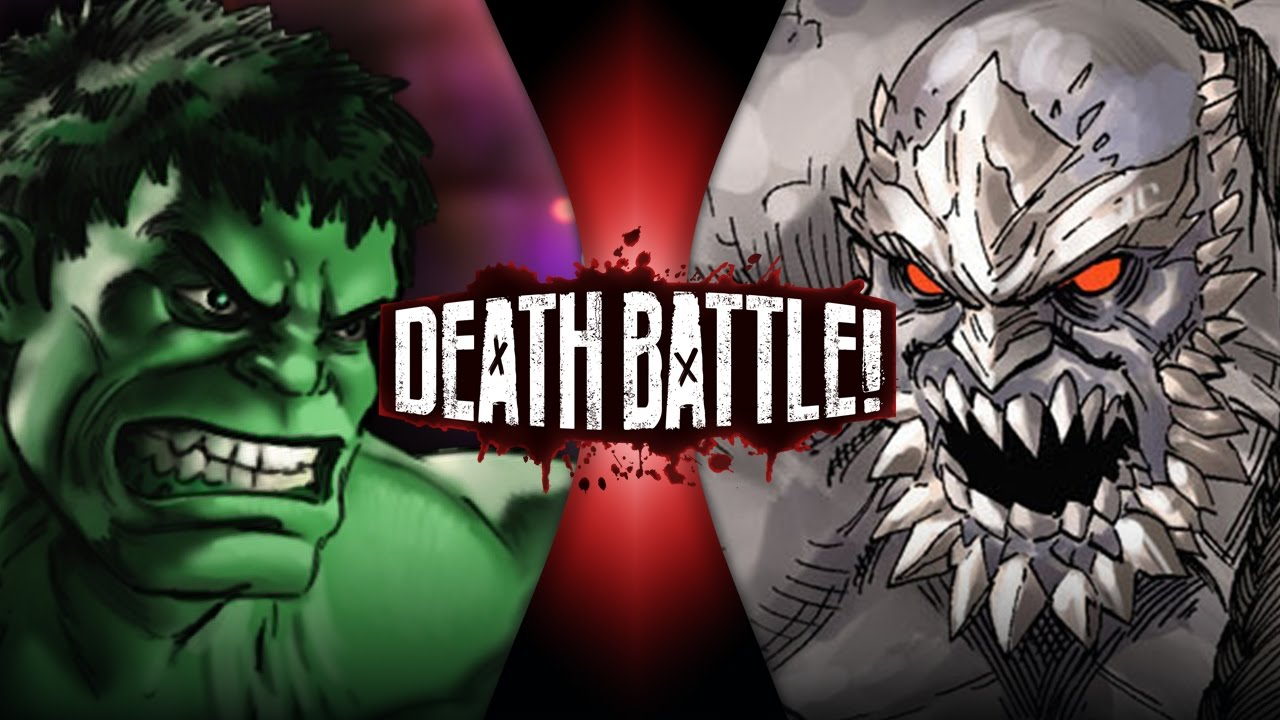 Hulk VS Doomsday | DEATH BATTLE Wiki | FANDOM powered by Wikia Doomsday Vs Hulk Death Battle