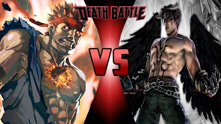 image evil ryu vs devil jin png death battle wiki fandom