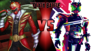 Gokai Red vs. Kamen Rider Decade