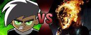 Danny Phantom VS Ghost Rider