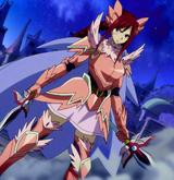 Fairy Tail - Erza Scarlet wearing Armaruda Fairy Armor