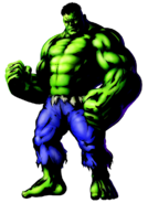 The Hulk, the Green Goliath