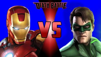 Iron Man Vs Green Lantern