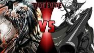 Makoto Shishio vs. Justice (Afro Samurai)